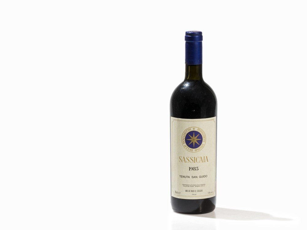 1 Bottle 1985 Tenuta San Guido Sassicaia, Bolgheri