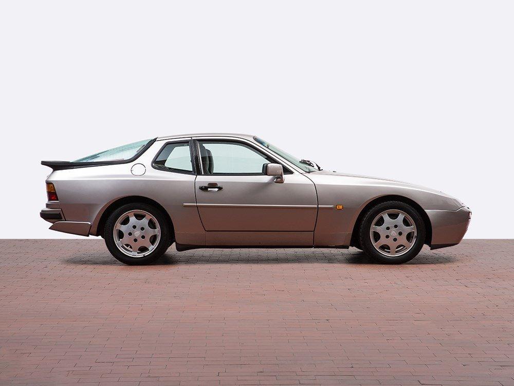 Porsche 944 Turbo, Silver Rose Limited Edition, Model - 4