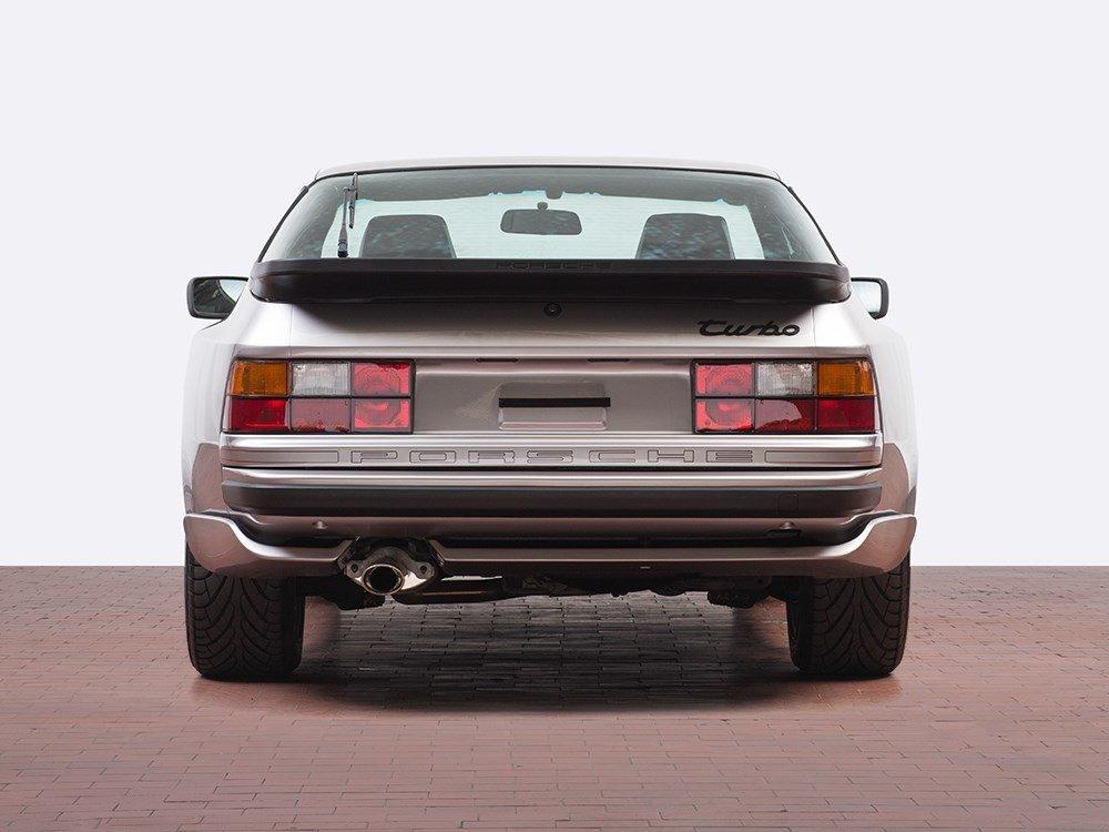 Porsche 944 Turbo, Silver Rose Limited Edition, Model - 5