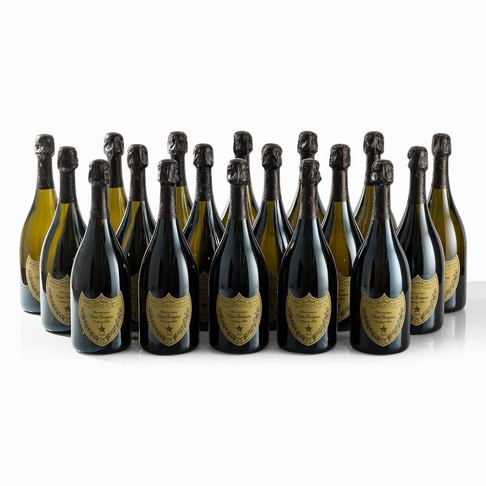 18 Bottles 1996 Moët & Chandon Dom Pérignon, Champagne - 7