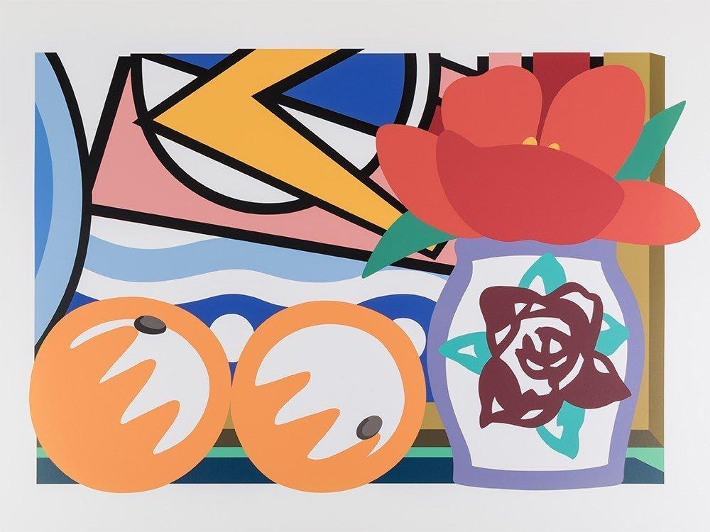T. Wesselmann, Still Life With Lichtenstein & Two