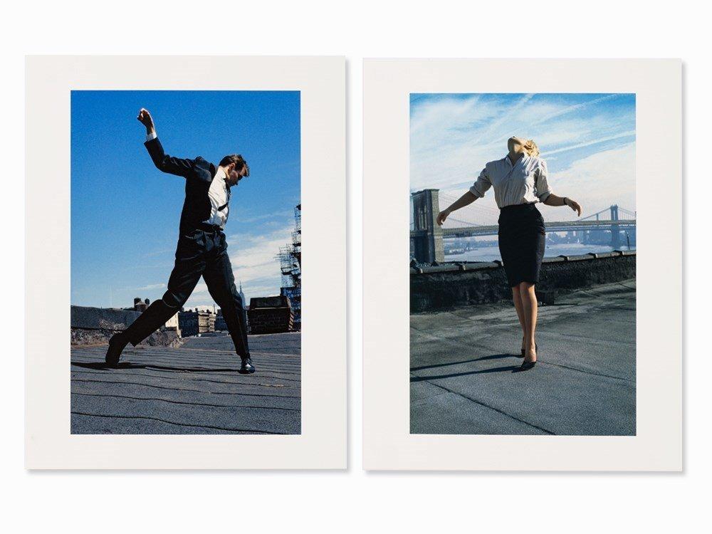 Robert Longo, Cindy & Eric, 2 Pigment Prints, 1981