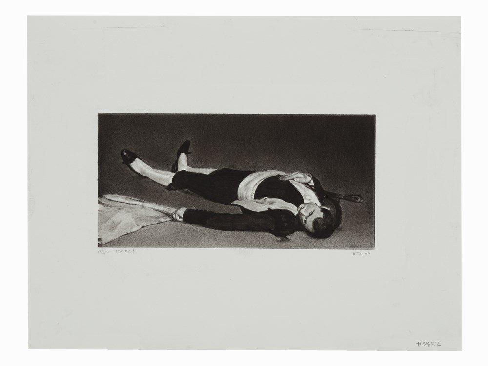 Robert Longo (born 1953), After Manet - Dead Matador,