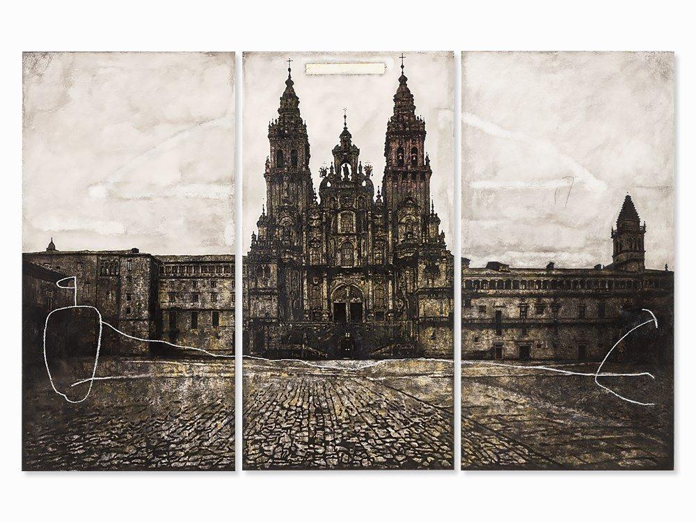 Antonio Alonso Martinez, Painting, 'A Secret Code',