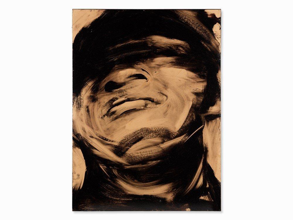 Lita Cabellut (b. 1961), Portrait of a Man, Oil, 2005