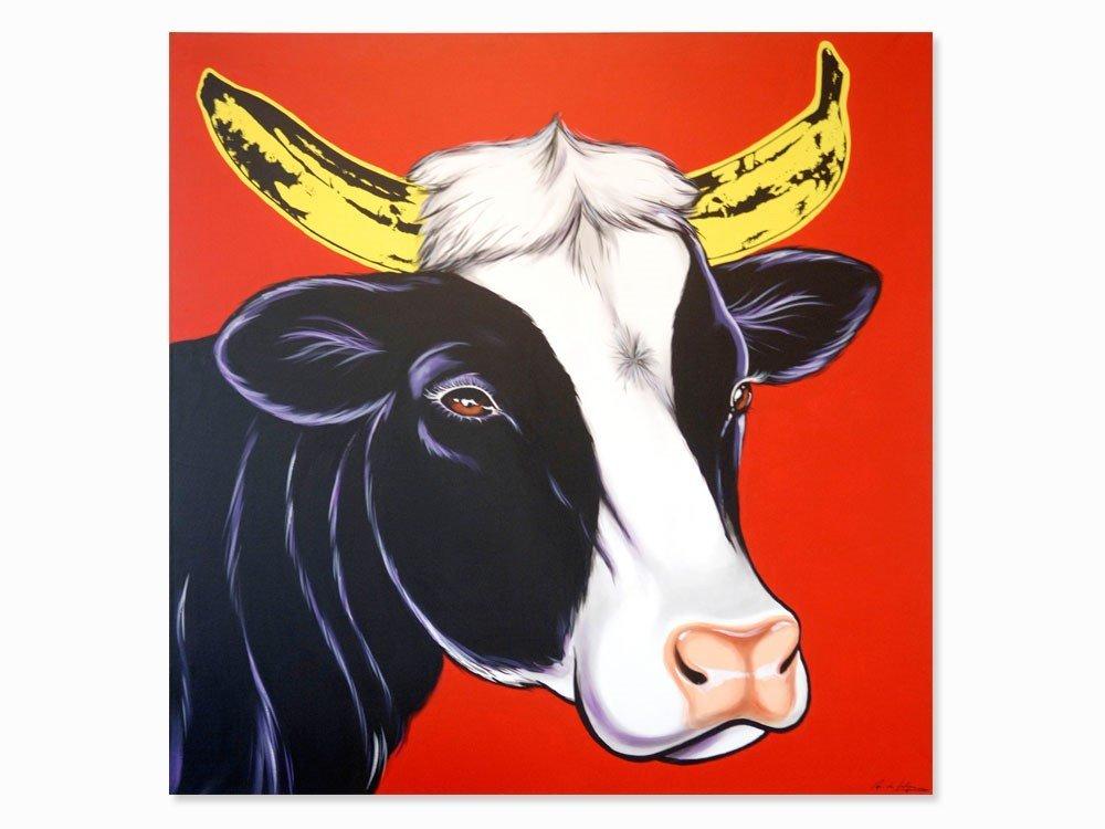 Antonio De Felipe, Red Cow & Banana Horns, 2000