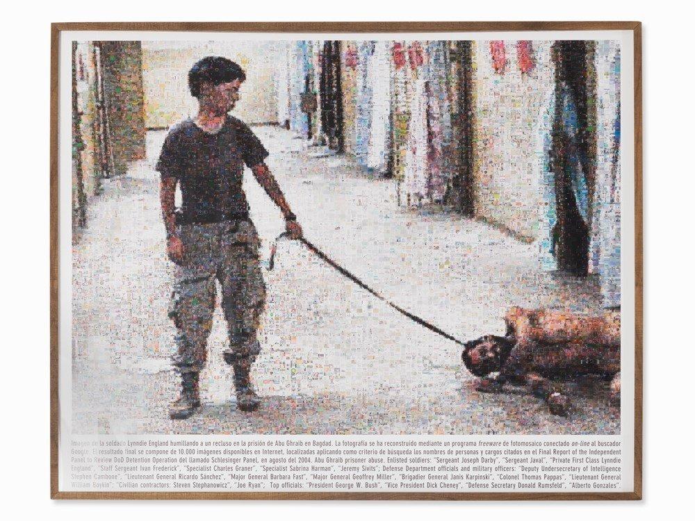 Joan Fontcuberta, Googlegram 5: Abu Ghraib, C-Print,
