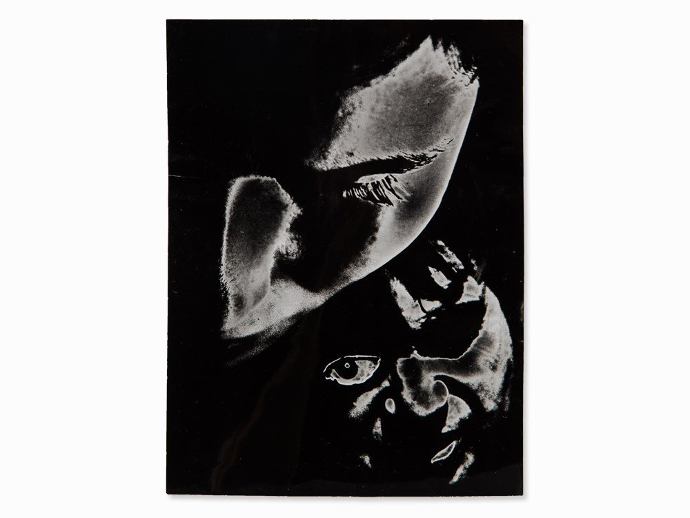 Antonio Gálvez, Portrait of Bacon, Photomontage,