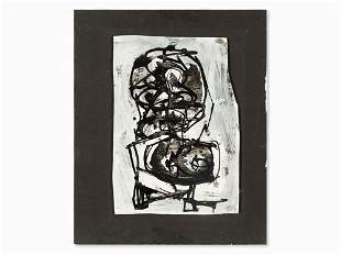 Antonio Saura (1930-1998), Untitled, Mixed Media, 1967