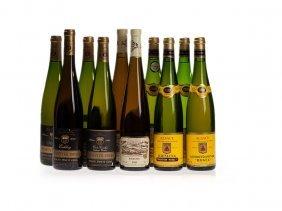 10 Bottles Alsatian Wine From 1998, 1999, 2000, 2002 &