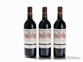 3 Bottles 1995/1996 Château Cos D'estournel,