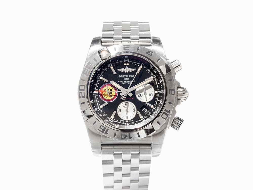 Breitling Patrouille Suisse Chronograph, Ref. AB 0420,