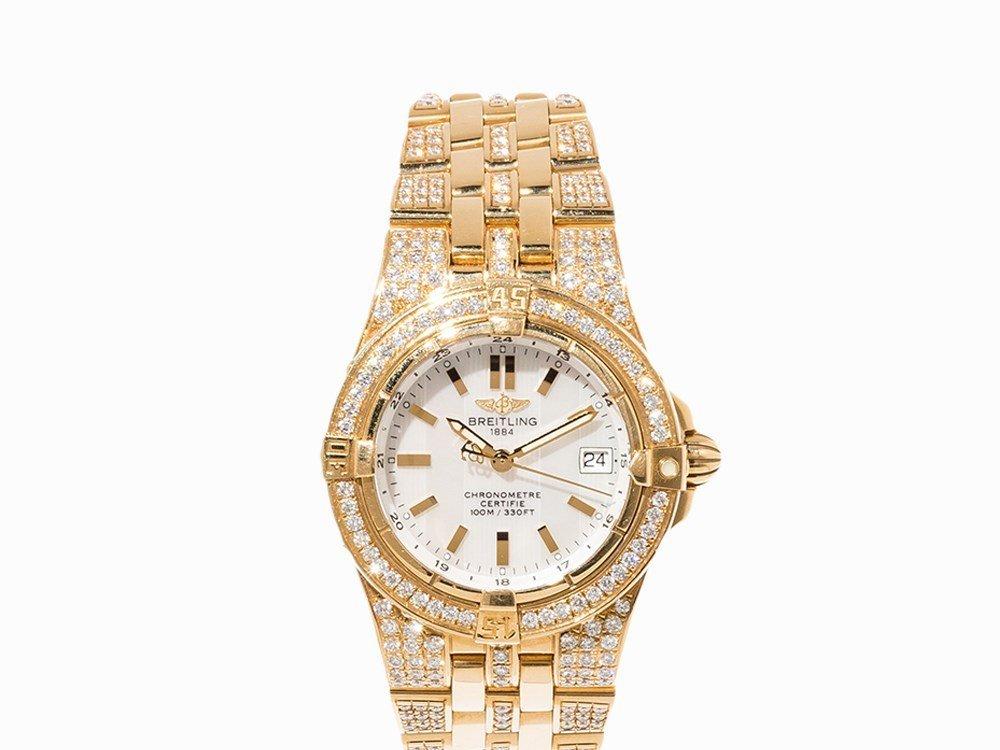 Breitling Starliner Ladies' Watch, Ref. K 71340, c.