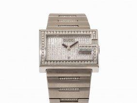Gucci Diamond Wristwatch, Switzerland, C. 1995