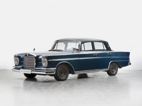Mercedes-benz 300 Se, Restoration Object, Model 1962