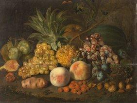 Johann Daniel Bager (1734-1815), Still Life With Fruit,