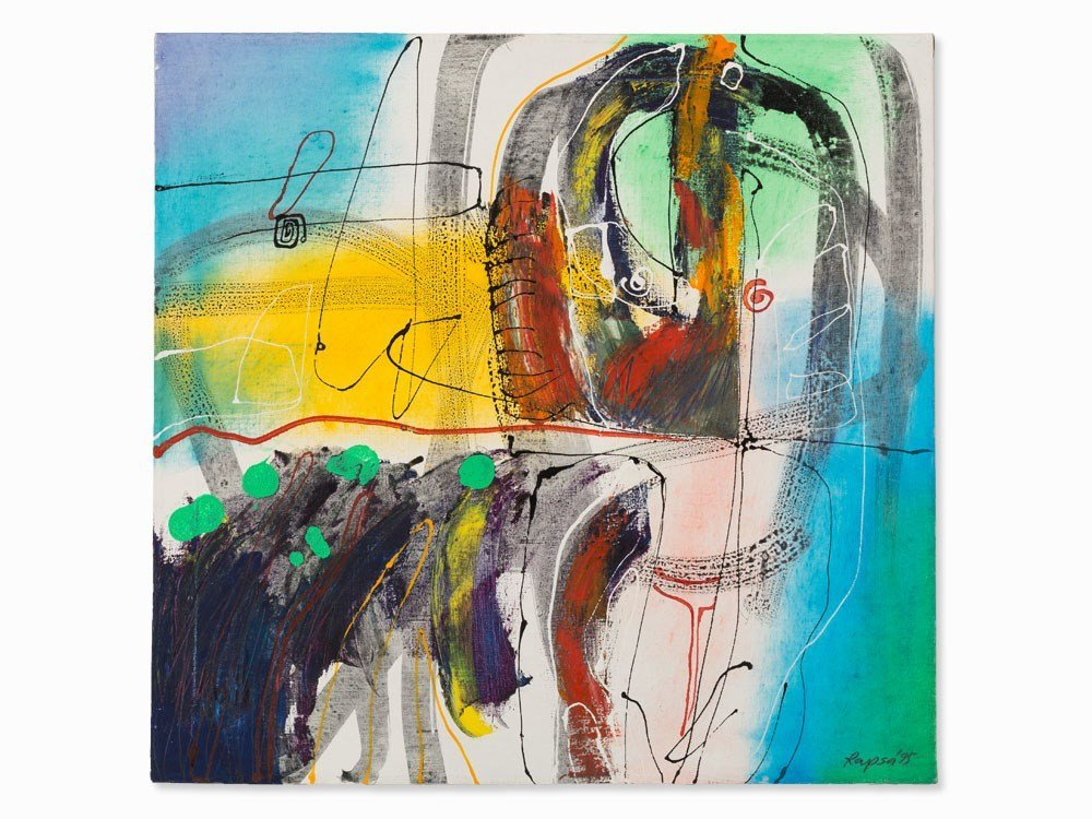 Krzysztof Rapsa, Abstract Composition, Painting,