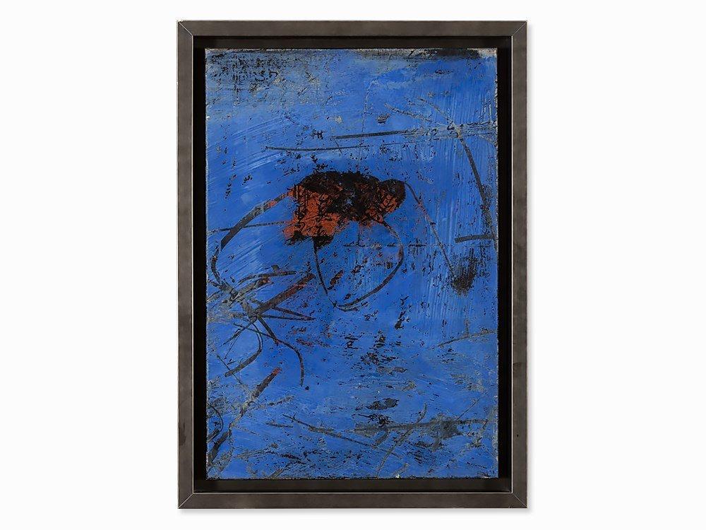 Valentin Oman, Oil on Canvas, 'Licht und Schatten […]',