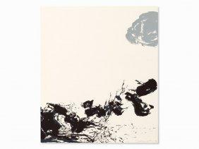 Zao Wou-ki (1921-2013), Untitled, Color Serigraph, 1973