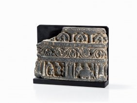 Schist Relief, Scenes From The Life Of Buddha, 2nd/3rd