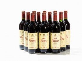 12 Bottles 1985 Bodegas Alcorta Viña Alcorta Reserva,