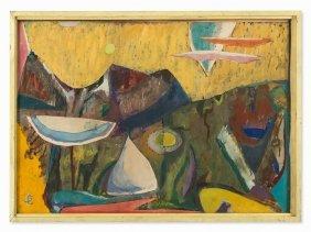 Sigmund Lympasik, Painting, 'isola Del Giglio',