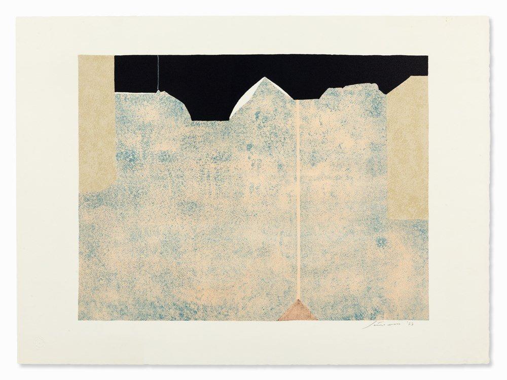 Giuseppe Santomaso (1907-1990), Block-Like Composition,