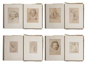 Albertina Facsimile, Drawings By Dutch & Flemish