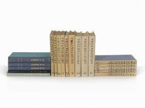 Architektura, 19 Volumes, Czech Republic, 1939-1961