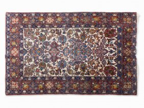 Saruk, Rug With Floral Pattern, Iran, 1970s