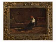Kimon Loghi (1873-1952), Domestic Scene, 1st H. 20th C.