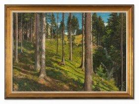 Adolf Helmberger (1885-1967), Plombergstein, Oil