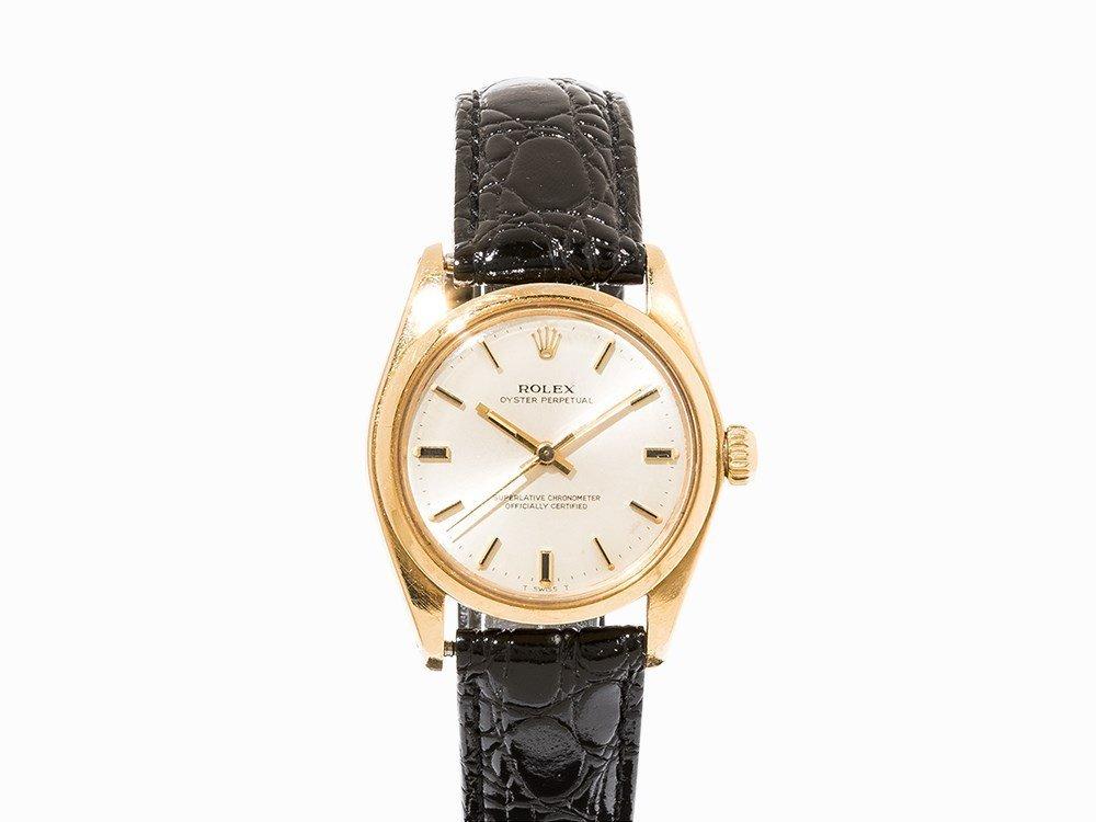 Rolex Gold Wristwatch, Ref. 6748, c. 1977