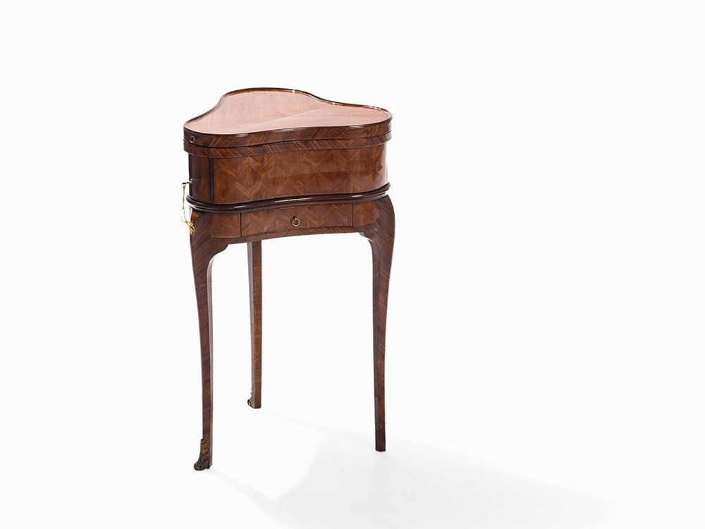 Dressing Table, Rosewood Veneered, Louis-Quinze Period