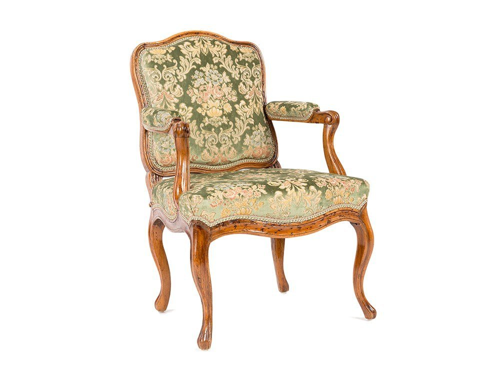 Elegant Louis XV Lady's Fauteuil, France, around 1760