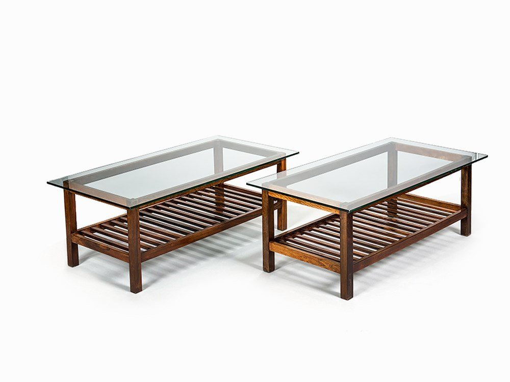 Coffee Table in the Style of Sergio Rodrigues, Brazil,