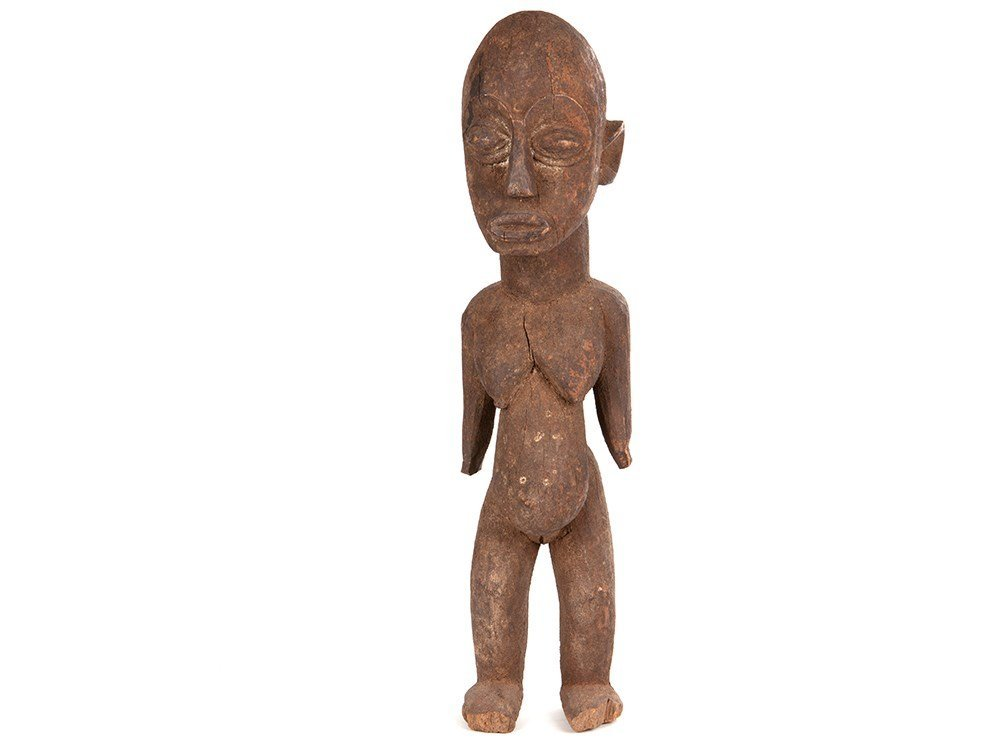 Wooden sculpture for fertility of the Lobi people,
