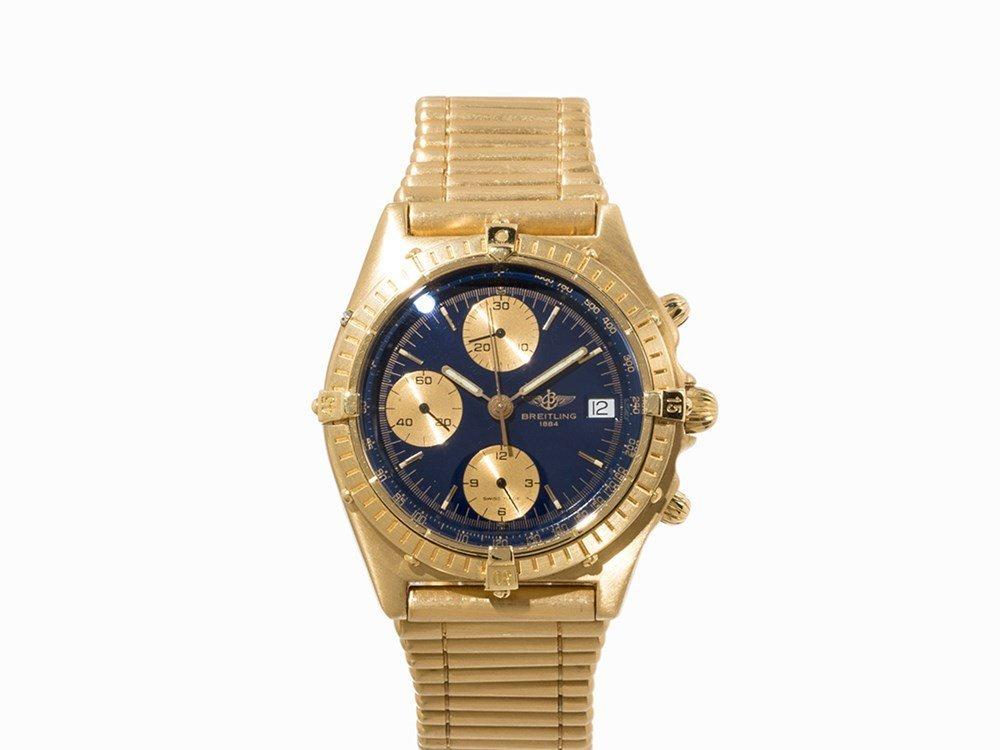 Breitling Gold Chronomat, Ref. 81950, c. 1990