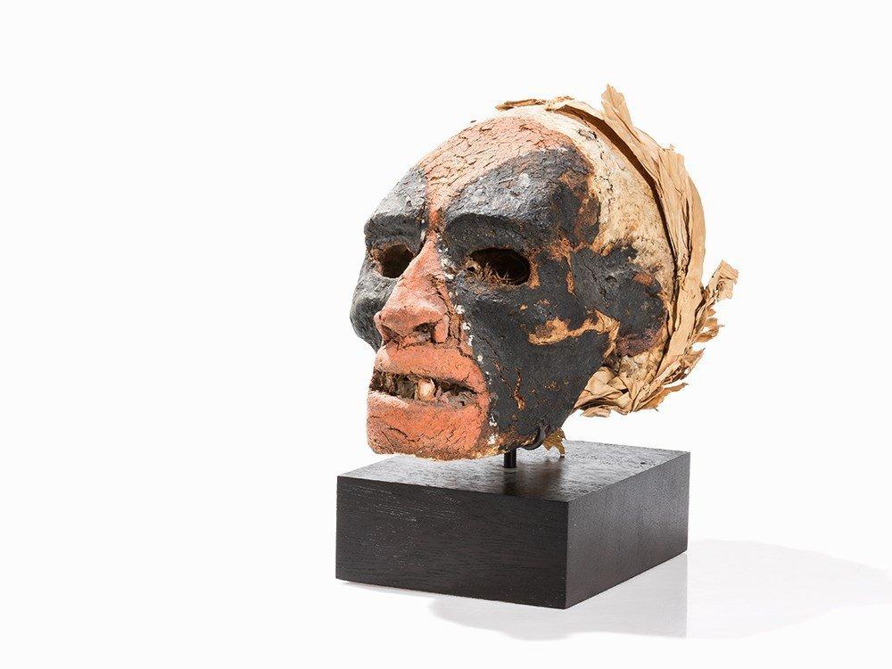 Vanuatu Over Modeled Skull, 19th or Early 20th C.