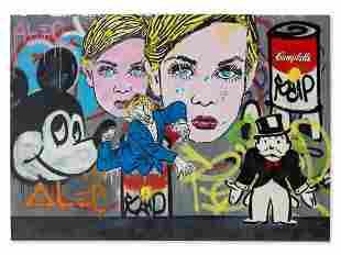 Alec Monopoly, Disaster in the D…., Mixed Media, 2011