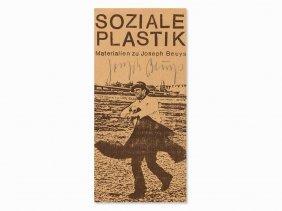 Joseph Beuys, Soziale Plastik, Promotional Leaflet,