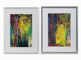 Gerhard Richter (b. 1932), Victoria I + Ii, Color