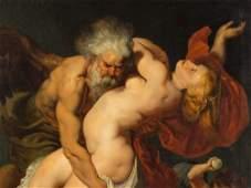 After Peter Paul Rubens, Boreas Abducting Oreithyia,