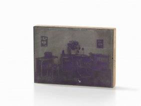 Thonet, Printing Plate For Tubular Steel Furniture,