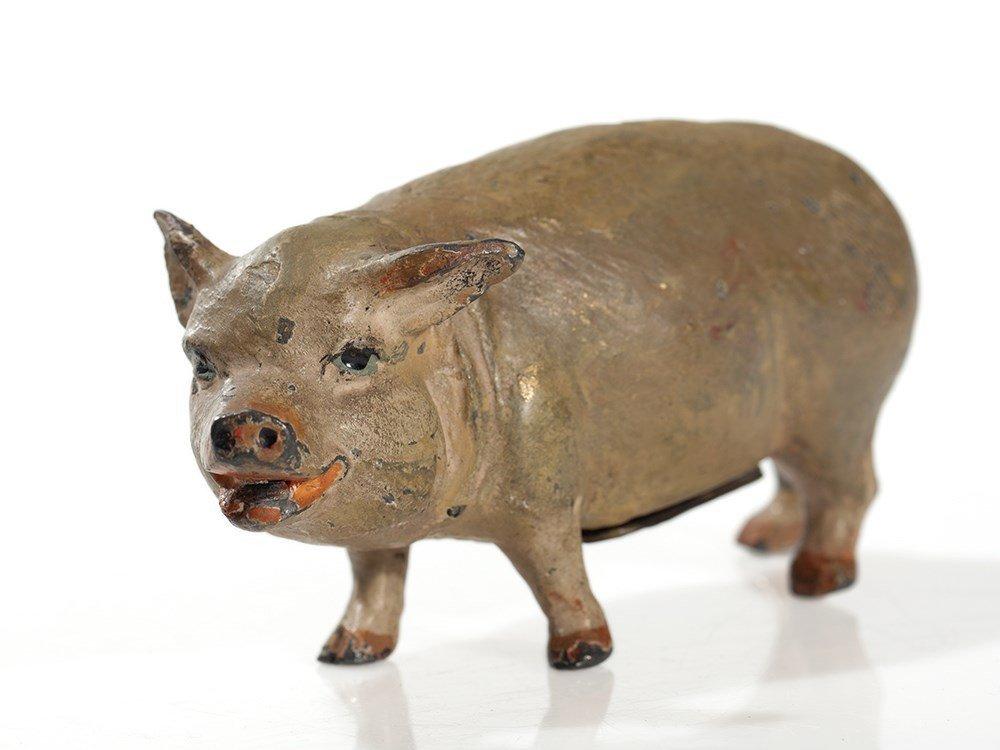 Antique piggy bank, Germany, around 1900