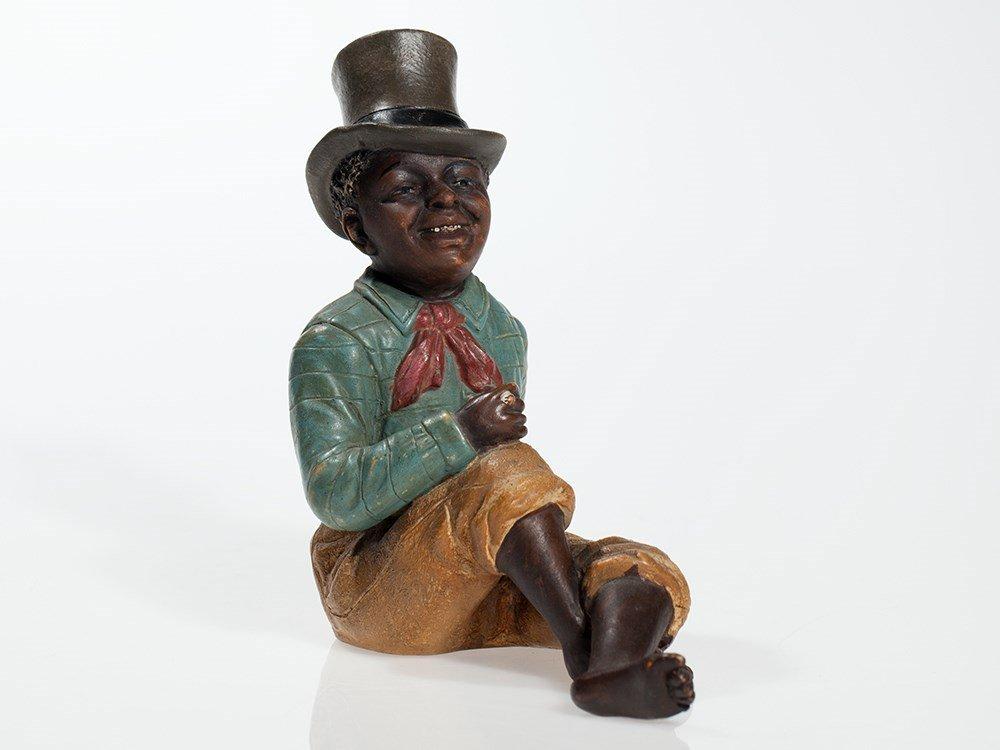 Decorative Black Americana figure by Johann Maresch, c.
