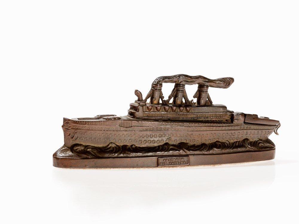 Extravagant Money Box of Steamboat, Germany, around