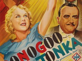"A Rare Movie Poster ""donogoo Tonka"" By Alfred Herrmann,"