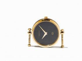 Gucci, Stylish Gold-plated Watch Case, Switzerland, C.