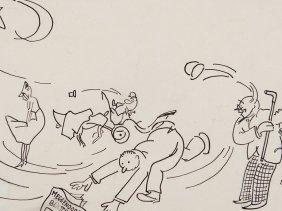 "Drawing ""meggendorfer Blätter Im Wind"", Richard"